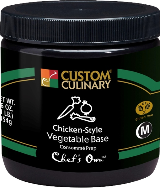 0740 - Chefs Own Chicken-Style Vegetable Base Consomme Prep
