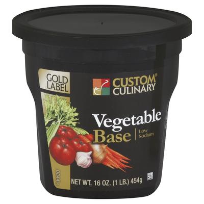 0844 - Gold Label Low Sodium Vegetable Base