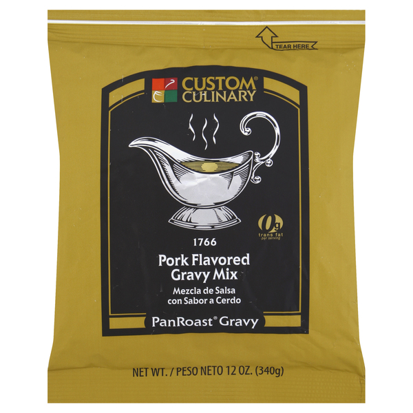1766 - PanRoast Pork Flavored Gravy Mix