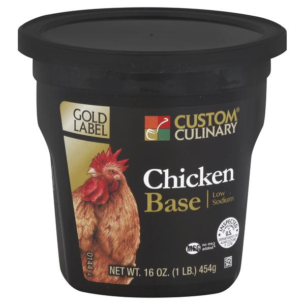 0144 - Gold Label Low Sodium Chicken Base