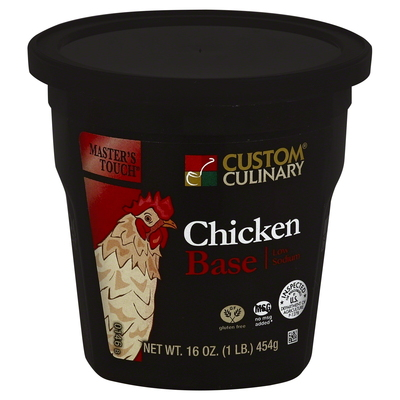 0146 - Masters Touch Low Sodium Chicken Flavored Base
