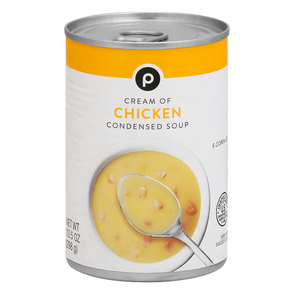 Publix Cream Of Chicken Condensed Soup 10 5 Oz Can